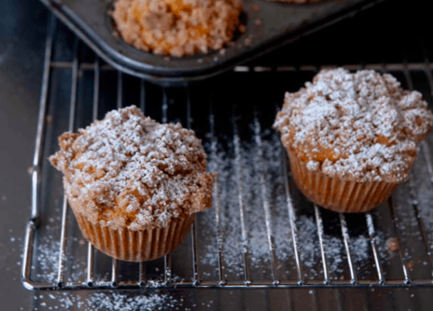 Gluten-Free, Dairy-Free Pumpkin Muffins with Streusel Topping