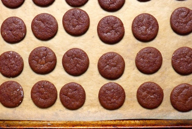 Gluten-Free, Dairy-Free Thin Minty Cookies