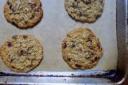 Slice-n-Bake Oatmeal-Chocolate Chip Cookies
