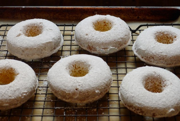 Gluten-Free, Dairy-Free Spiced Powdered Doughnuts