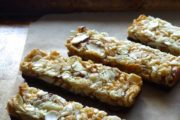 Gluten-Free, Dairy-Free Chocolate-Dipped Coconut-Almond Bars