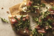 White Pizza with Arugula and Prosciutto