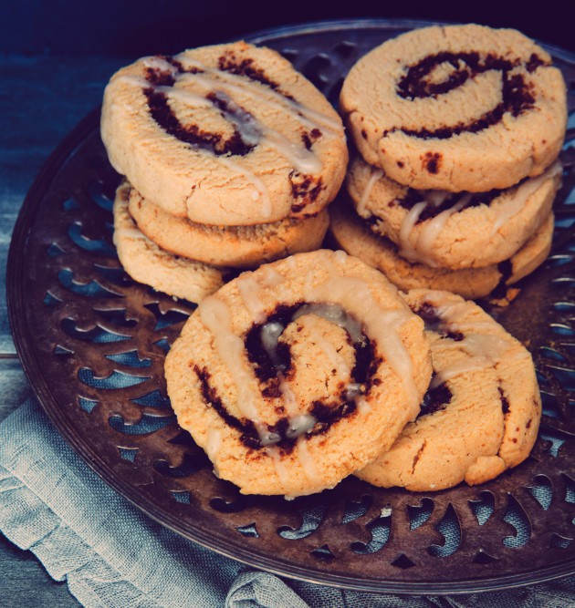 Brittany Angell's Gluten-Free, Dairy-Free Cinnamon Roll Cookies