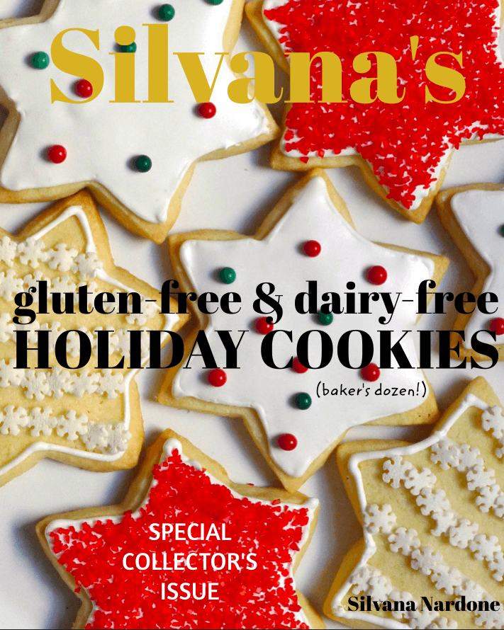 E-Book: Silvana's Gluten-Free & Dairy-Free Holiday Cookies