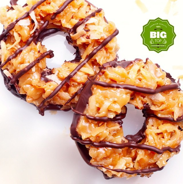 DIY Girl Scout Cookie Week: Gluten-Free, Dairy-Free Samoas!