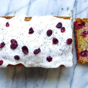 cranberry-poppy-loaf-bread-with-lemon-glaze