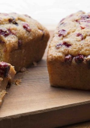 Gluten-Free, Dairy-Free Citrus-Glazed Cranberry-Pistachio Loaf Cake
